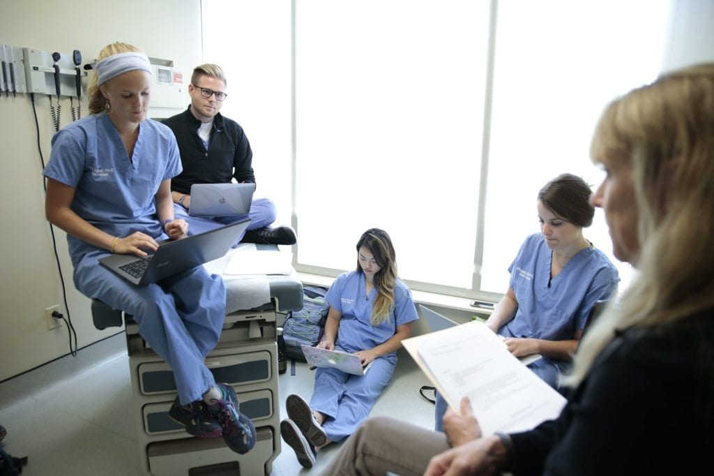 South College Physician Assistant Students